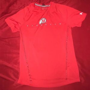 Utah Utes team-issued shirt